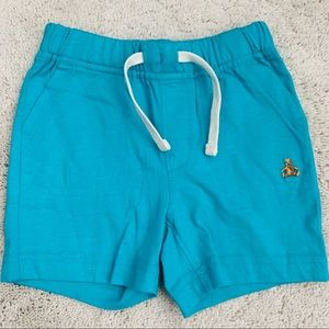 NWT Gap Baby Boy Teal Pull-On Shorts
